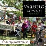 Vårhelg Linders Plantskola 2014