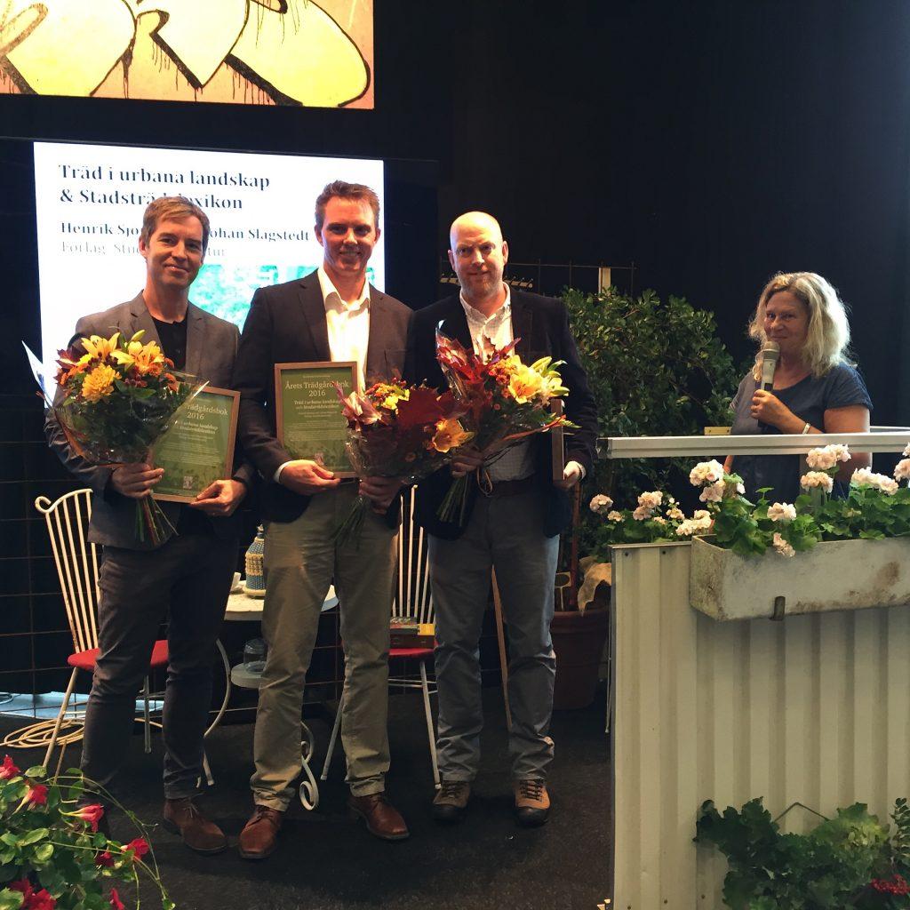 Årets trädgårdsbok 2016. Foto: Dan Abelin.