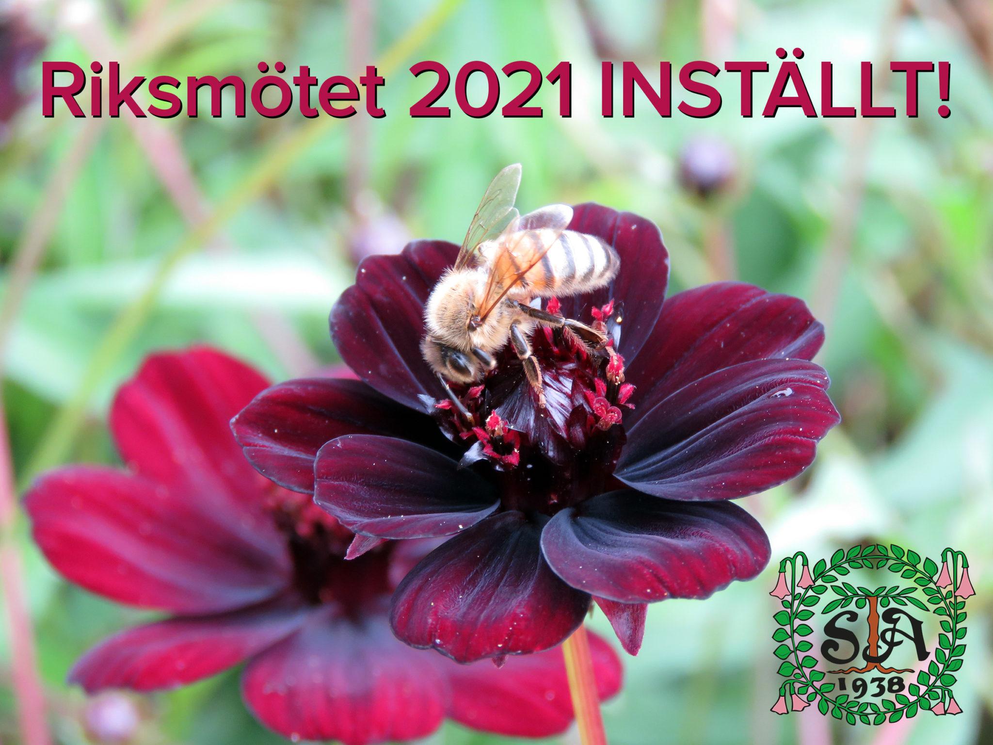 Riksmötet 2021 INSTÄLLT